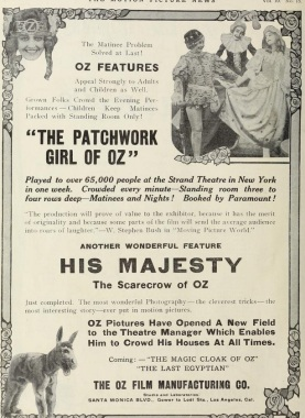 patchwork girl of oz movie