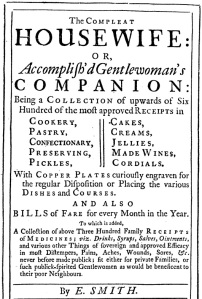 Complete Houswife Title Page