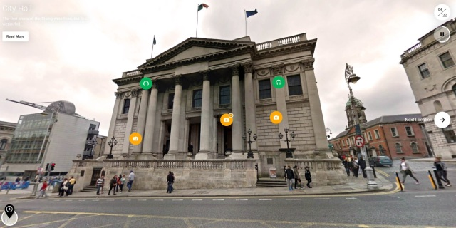 Dublin Rising City Hall