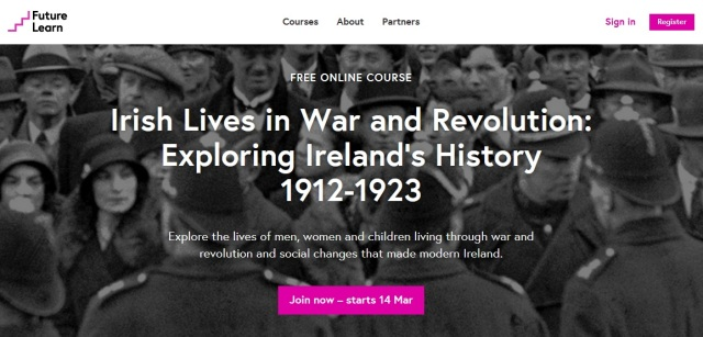 FutureLearn Irish Lives