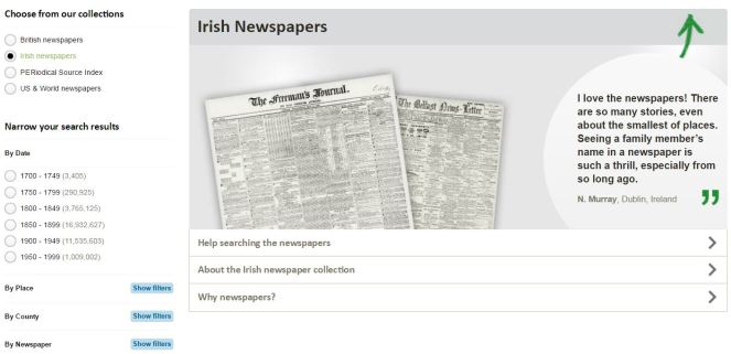 irish-newspapers-find-my-past