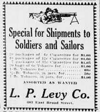 special shipments for soldiers