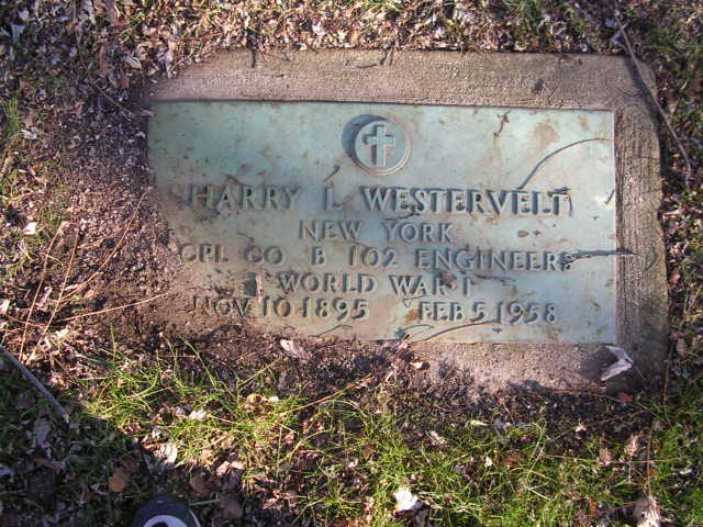 harry Westervelt headstone