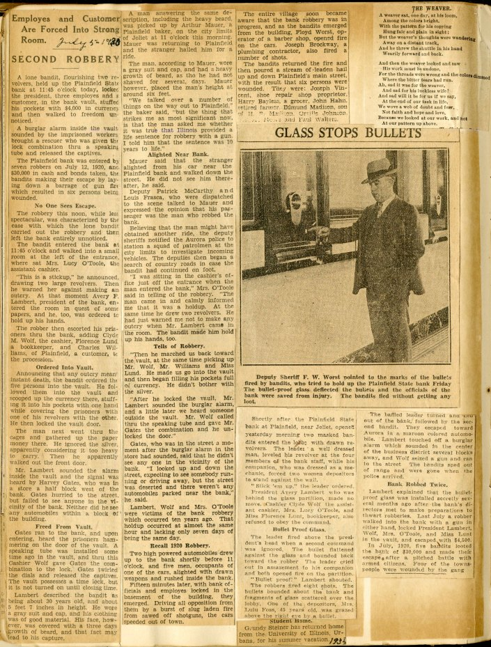 page 41 from lavina harvey irwin newspaper scrapbook 1925-1940